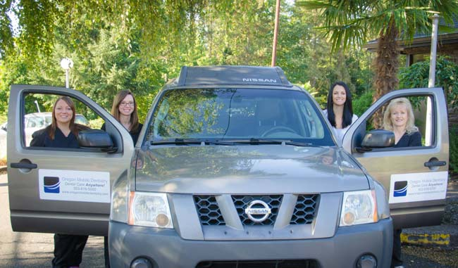 Oregon Mobile Dentistry team